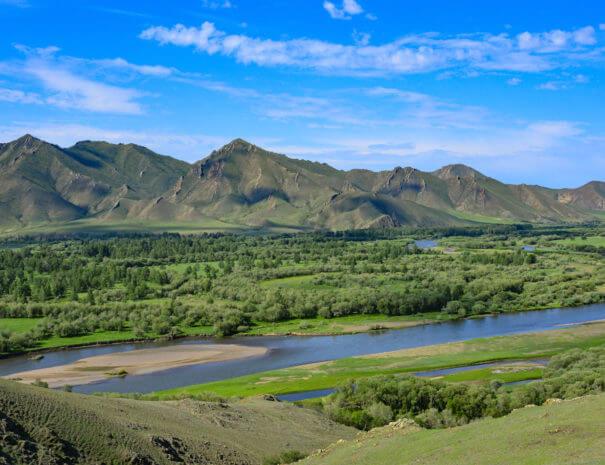 Mongolei_Berge_Fluss_1