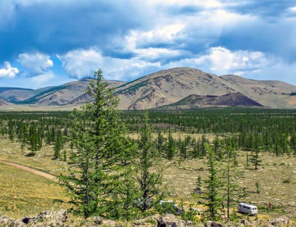 Mongolei_Khorgo_Vulkan_Panorama