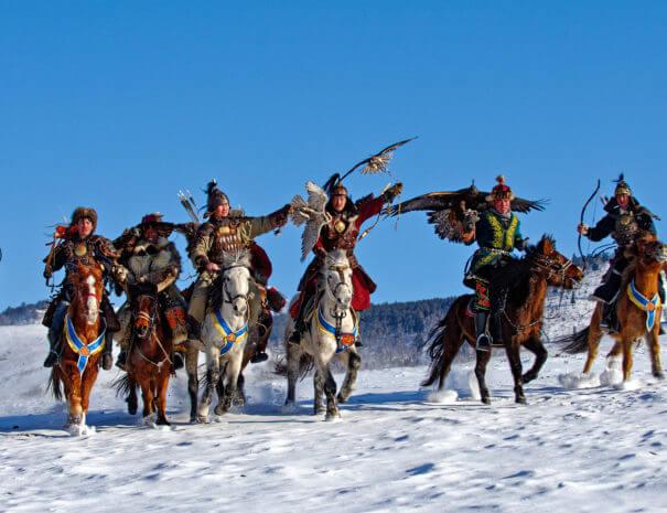 Mongolei_Pferde_Adler