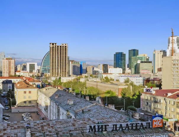 Mongolei_Ulaanbaatar_Skyline