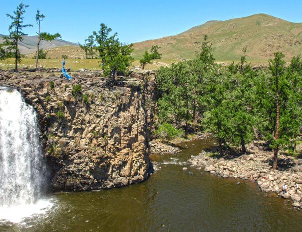 Mongolei_Wasserfall_Ulaan_Zutgalan_1